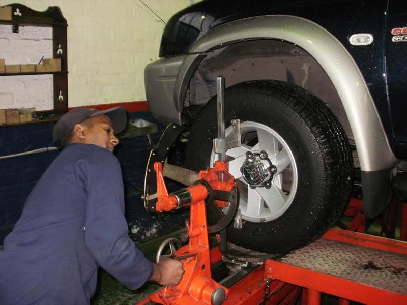 wheel alignment business plan