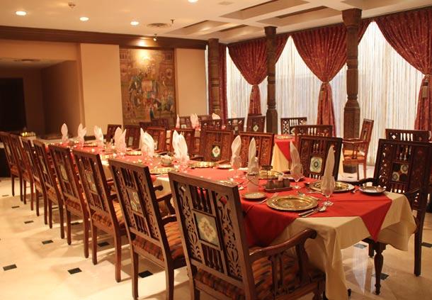 Marriott Karachi Suzie Wong Restaurant Menu